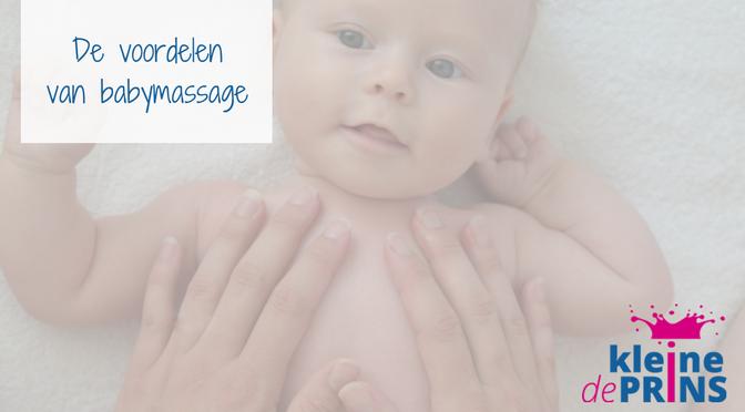 De voordelen van babymassage